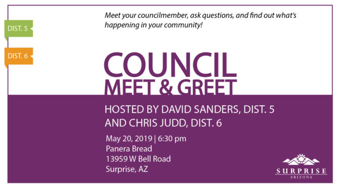 Councilmember Meet & Greet May 20