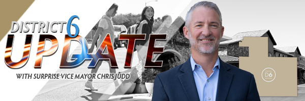 Vice Mayor Chris Judd D6 Update