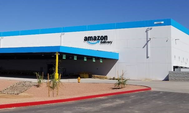 The Amazon Delivery building in Surprise.